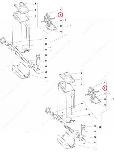 Siguranta Roata Container Wittenborg 7100