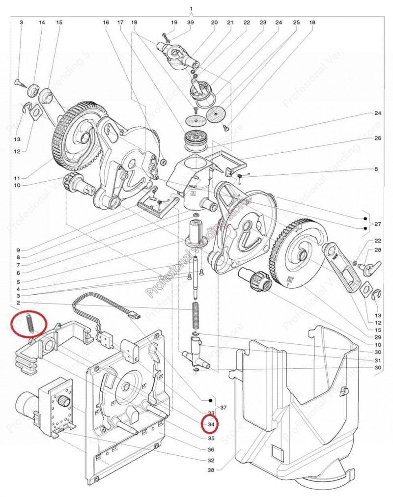 Arc Motoreductor Necta Canto
