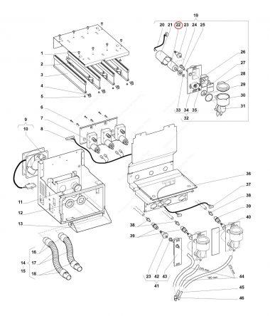 Motor Mixer Wittenborg 7100