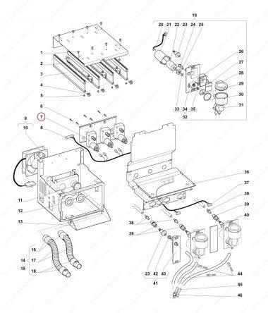 Motoreductor Container Produs Wittenborg 7100