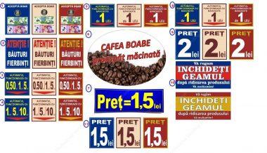Sticker Mediu Automate Cafea