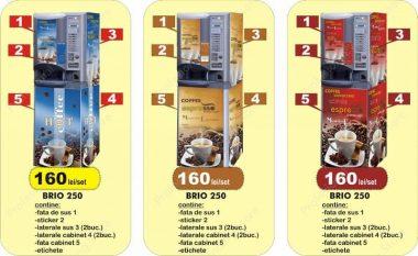 Autocolant Brio 250