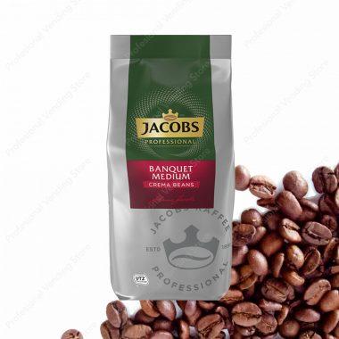 Jacobs Caffe Crema Banquet Medium Cafea Boabe 1 Kg